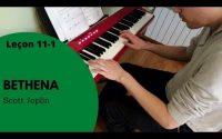 [Leçon 11-1] Bethena (Scott Joplin)