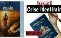 """Leçon 1Dimanche """"Ciel, écoute (És 1.1-9)"""""""