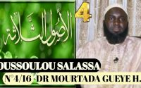 Leçon N°4 OUSSOULOU SALASSA Dr MOURTADA GUEYE H.A