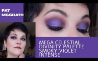 Pat McGrath / Mothership Mega Celestial Divinity tutoriel / Smoky violet intense  #PATMCGRATH #smoky
