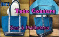 Sac Cabas à Paillettes - Tutoriel Couture DIY