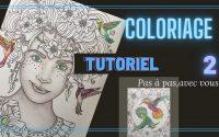 TUTORIEL: Comment faire les OMBRES dans un VISAGE!  Coloriage pour adultes, à vos crayons 💪