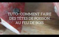 TUTORIEL : Cuisson de têtes de poisson rouge au feu de bois