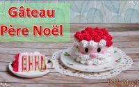Tutoriel Fimo Gateau Père Noël / Polymer clay tutorial christmas cake
