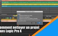 Tutoriel Logic Pro X (en Français): comment nettoyer un projet dans Logic