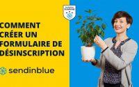 Tutoriel Sendinblue : Le formulaire de désinscription | Formation emailing (36/63)