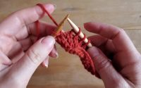 "Tutoriel Tricot - Rangs raccourcis ""wrap and turn"" (w&t)"