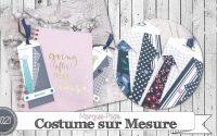 """[Tutoriel] """"Marque-Page * Costume sur Mesure"""" par Coul'Heure Papier"""