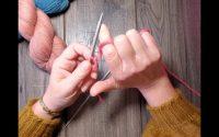 Tutoriel tricot - Apprendre à monter des mailles et tenir son fil