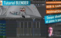 bob animation en pose to pose - le dope Sheet - tutoriel en Français complet