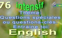 Apprendre l'anglais. Questions spéciales. Dialogue simple. Leçon 76 Miller's Language School