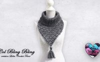 "Col ""Bling Bling"" tutoriel crochet by ""Lidia Crochet Tricot"""