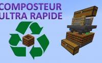 Composteur Ultra Rapide 🛠 Minecraft Java 1.16 🛠 Tutoriel