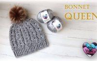 """Concours !! Bonnet The Queen !! tutoriel crochet by """"Lidia Crochet Tricot"""""""