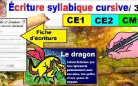 Cours leçon français : Écrire un texte informatif en ce1 ce2 cm1 # 35