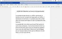 Explication de la leçon 18 # et &
