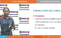 IP LAL LATIN 3ème Leçon 2  le participe present