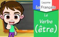 Le Verbe (être) au présent de l'indicatif/leçon de conjugaison /learning french language