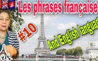 Leçon. 284 10 phrase affirmative quotidienne en français et anglais. រៀនឃ្លាប្រើប្រចាំថ្ងែខ្លីសំខាន់