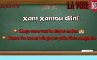 Leçon N°8 🔸️ Heure bo xamni losi gnaane yalla Mou nangouko  🔸️Loy wax bougniy Nodou/أذكان الآذان
