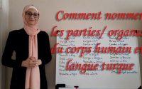 Leçon N33:  Comment nommer les parties /organes du corps humain en turc  ***Apprendre le turc ***