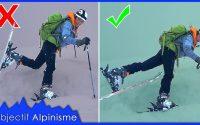 TUTORIEL : ÉVITER de PLANTER son SKI pendant une CONVERSION en ski de randonnée
