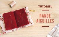 TUTORIEL | Porte aiguilles pour tissage de perles
