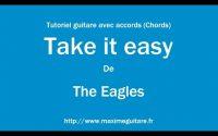 Take it easy (The Eagles) - Tutoriel guitare avec accords et partition en description (Chords)