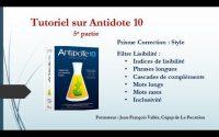 Tutoriel Antidote 10 (5e partie) : La lisibilité du texte