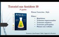 Tutoriel Antidote (3e partie) : Les répétitions et les tournures de phrases