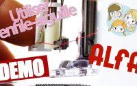 Tutoriel - Comment utiliser l'enfile-aiguilles Machines à coudre ALFA - www.lesfillesapois.fr