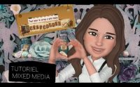#Tutoriel Étagère   de chez #Scrapcolors # Mixed media #partie 2😉