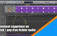 Tutoriel Logic Pro X (en Français): comment supprimer un click / pop sur un fichier audio.