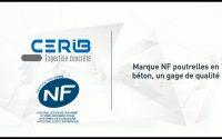 Tutoriel : marque NF poutrelles en béton