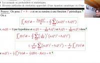 Agrégation interne math : leçon 212 : Séries de Fourier d'une fonction périodique ...