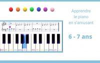 Apprendre le piano dès 6 ans : ma première leçon
