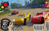 Cars 3 Mcqueen Tutorial and First Race Event -PS4 Gameplay / Tutoriel et premier événement de course