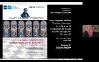 Chaire Théodore Verhaegen 2021, leçon inaugurale. La franc-maçonnerie: une religion parmi d'autres ?
