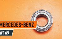 Changer roulement roues avant MERCEDES-BENZ A W169 TUTORIEL   AUTODOC