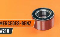 Changer roulement roues avant MERCEDES-BENZ E W210 TUTORIEL | AUTODOC