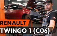 Comment remplacer ressort de suspension avant sur RENAULT TWINGO 1 (C06) [TUTORIEL AUTODOC]