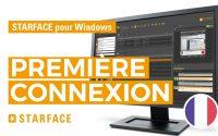 La première connexion - STARFACE pour Windows - Tutoriel