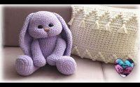 "Lapin Calin tutoriel crochet by ""Lidia Crochet Tricot"" Bunny Crochet Amigurumi"