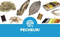 Quels matériaux de base pour monter des mouches sèches - Tutoriel Pecheur.com