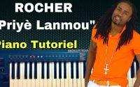 ROCHER - Priyè Lanmou (Cover piano Tutoriel Accords + solo)