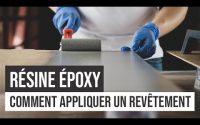 Résine époxy | Comment appliquer un revêtement | Tutoriel