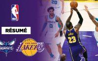 🏀 Résumé NBA VF : LeBron donne une leçon aux Hornets