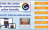 Tutoriel Cartes de mémorisation avec Genially 1/2 - Les bases (+ ressources en description)