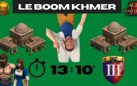 Tutoriel : le Boom insane des Khmers avec Fast Castle en 13min 10 (24 de pop) sur Age of Empires II