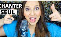 cours de chant: comment apprendre à chanter seul- MEILLEURS CONSEILS